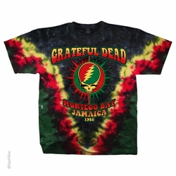 Licensed Grateful Dead T-Shirts, Tees, Tie-Dyes, Hoodies, Gifts & Accessories | Baby, Youth, Men's, ... BAY AREA BELOVED TIE-DYE LONG SLEEVE T-SHIRT. Grateful Dead MONTEGO BAY