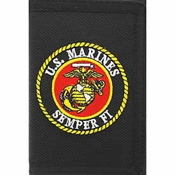 Wholesale Merchandise Listings | Browse Wholesale Products - Heavy Duty Nylon Wallet - The Few The Proud U.S. Marines 12.49