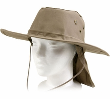 Wholesale Custom Outdoor Hats - CP-045 Khaki Flap Boonie.jpg