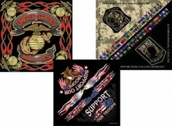 Military, Apparel, Headwear, Wholesale, Goods -MILITARY BANDANNA