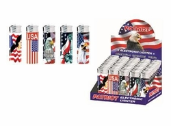 Wholesale Military Goods -PATRIOTIC ELECTRONIC LIGHTER