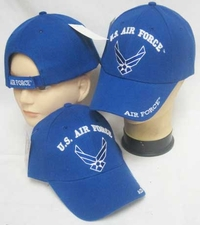 Wholesale Caps, Wholesale Hats, Military - C861A Airforce Logo Cap