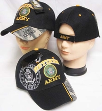 Wholesale Embroidered Military Baseball Caps - Retired ARMY Hats Military Baseball Caps - CAP590