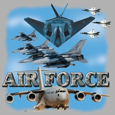 Wholesale T-Shirts US Air Force T-Shirts Military