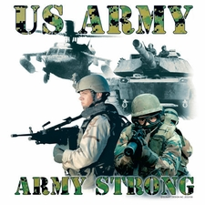 Wholesale US Army Strong T-Shirts Military