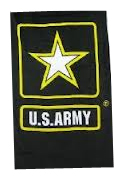 Wholesale Military Products Suppliers Distributors - American Flag M-4 Carbine 2nd Amendment Beach Towel - Cotton 30 W x 60 H United States Army Beach Towel
