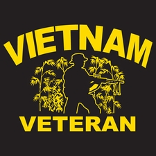 Wholesale Military T-Shirts - 3884 Vietnam Veteran