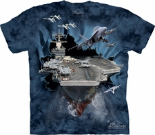 Wholesale T Shirts, Custom Clothing - Aircraft Carrier T Shirts, Military Wholesale