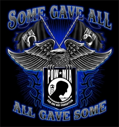 Wholesale T Shirts, Biker Motorcycle T Shirts - Custom Sweatshirts - Pow Mia Long Sleeve T-Shirts - S269 lsp 2x 3x