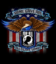 Wholesale T Shirts, Biker Motorcycle T Shirts - Custom Sweatshirts - Pow Mia T-Shirts Military Long Sleeve - S309 lsp 2x 3x
