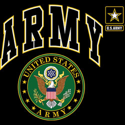 Wholesale Military Style T-Shirts - US ARMY SEAL 19964D1