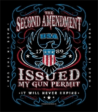 Second Amendment T Shirts Gun - S303