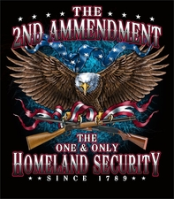 Second Amendment T Shirts, Gun - S305
