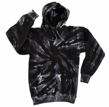 Wholesale Tie Dye Sweatshirts Bulk - Black Tornado