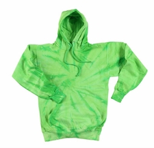 Wholesale Tie Dye Sweatshirts Bulk - Lime Monsoon