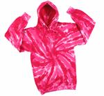 Wholesale Sweatshirts, Wholesale Hoodies, Tie Dye - Pink Tornado