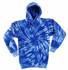 Wholesale Tie Dye Sweatshirts Bulk - Royal Tornado