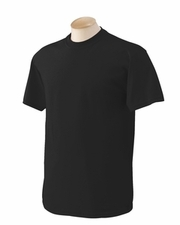 Wholesale T Shirts Bulk Blank - G500 Gildan 5.3 oz. Heavy Cotton T-Shirt Black