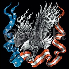 Eagle Flag T Shirts Wholesale Military 11620-P16