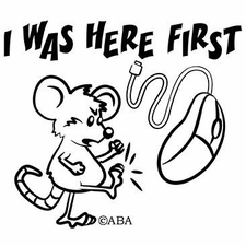 Wholesale T-Shirts Funny Bulk - I Was Here First a11117b