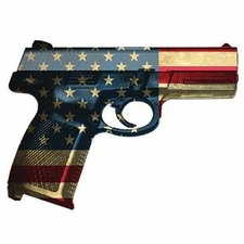 Wholesale T-Shirts Gun Bulk - Patriotic Gun a1069h