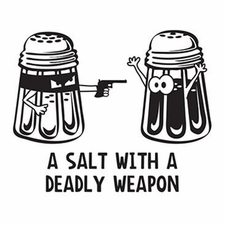 Wholesale Clothing Apparel - T-Shirts Funny Bulk - Salt Deadly Weapon a10467d