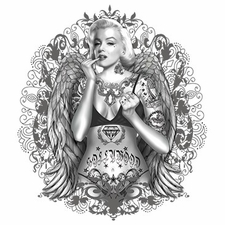 Wholesale - Tattoo Marilyn T Shirts - MSC Distributors