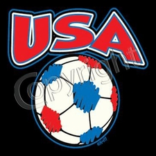 Wholesale USA Soccer T Shirts - 10688-6