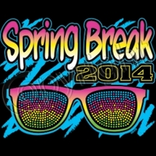 Wholesale Spring Break 2014 Neon T Shirts Sunglasses - 12270