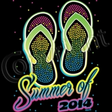 Wholesale T Shirts Funny Fashion Bulk Suppliers Products - 12275-NeonSandalsSummerOf2014