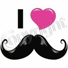 Wholesale T Shirts - Funny Fashion - Funny T Shirts - Mustache 11618-13