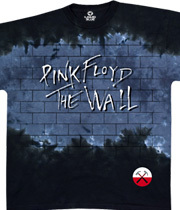 Wholesale Pink Floyd T Shirts Graphic Suppliers - Brick In The Wall Tie-Dye
