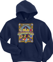 Wholesale T Shirts Graphic Suppliers - Closing Of Winterland Navy Hoodie