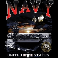 Bulk T Shirts Military Fashion - USA American Navy Military T Shirts - A8938C