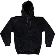 Wholesale Sweatshirts Hoodies Tie Dye Bulk - MINERAL BLACK