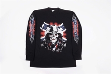 Wholesale long sleeve confederate rebel t-shirts - S129LSP