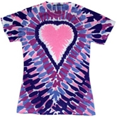 Wholesale - Tie Dye T Shirts - Sublimation Tie Dye Ladies Cheap Wholesalers - 648