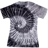 Wholesale - Tie Dye T Shirts - Sublimation Tie Dye Ladies Cheap Wholesalers - 671