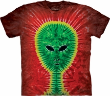 Tie Dye T Shirts Wholesale - Alien
