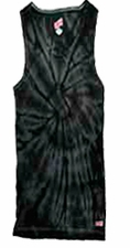 Tie Dye Tank Tops For Juniors Wholesale Suppliers -SPIDER BLACK