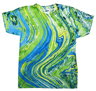 Wholesale Tie Dye T Shirts Suppliers -marblelime