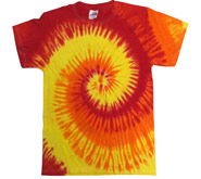 Tie Dye T Shirts Wholesale - BLAZE