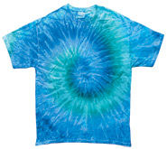Tie Dye T Shirts Wholesale - BLUE JERRY