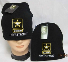 Army Gold Star Beanies - WIN601S