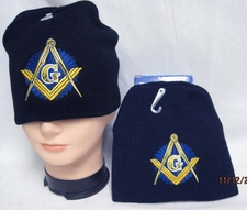 Wholesale Caps Hats - Military Fashion - Beanies Mason - Wholesale Winter Discount Beanies Military - WIN965 Masonic II Beanie