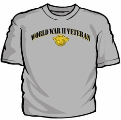 Military T Shirts Bulk Wholesale - World War II Veteran T-Shirt