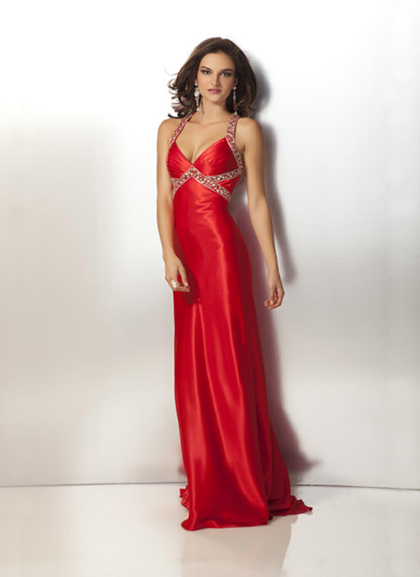 Clarisse 2012 Red Long Prom Dress 17186