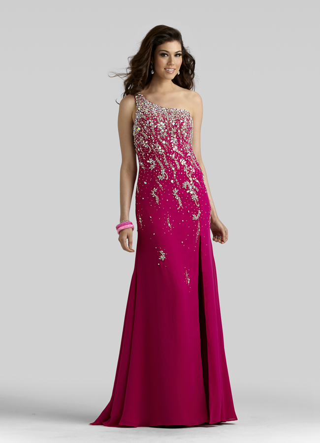one shoulder prom dresses 2013