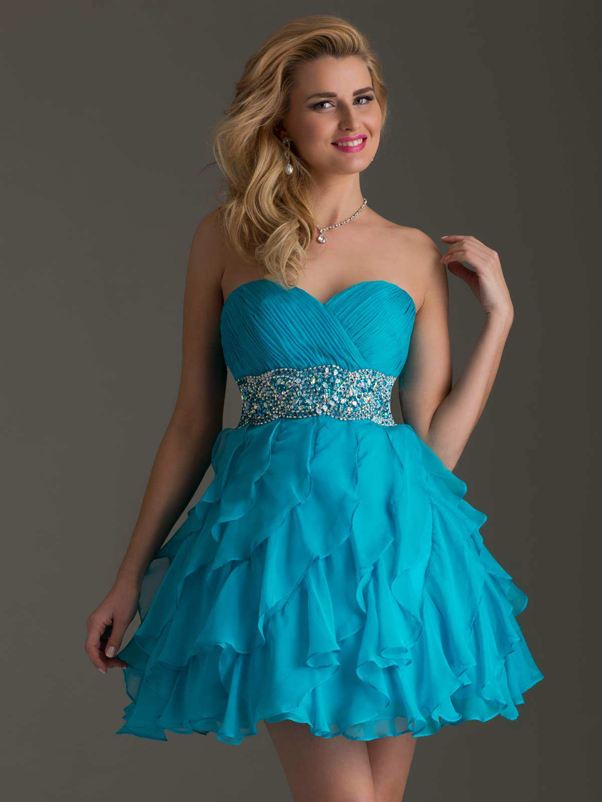 Clarisse 2014 Homecoming Dress 2460 | Promgirl.net