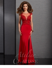 Atelier Clarisse Special Occasion Dress 6324- Two Colors Available